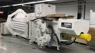 Maren Engineering A160 Auto Tie Recycling Baler Kernic setup