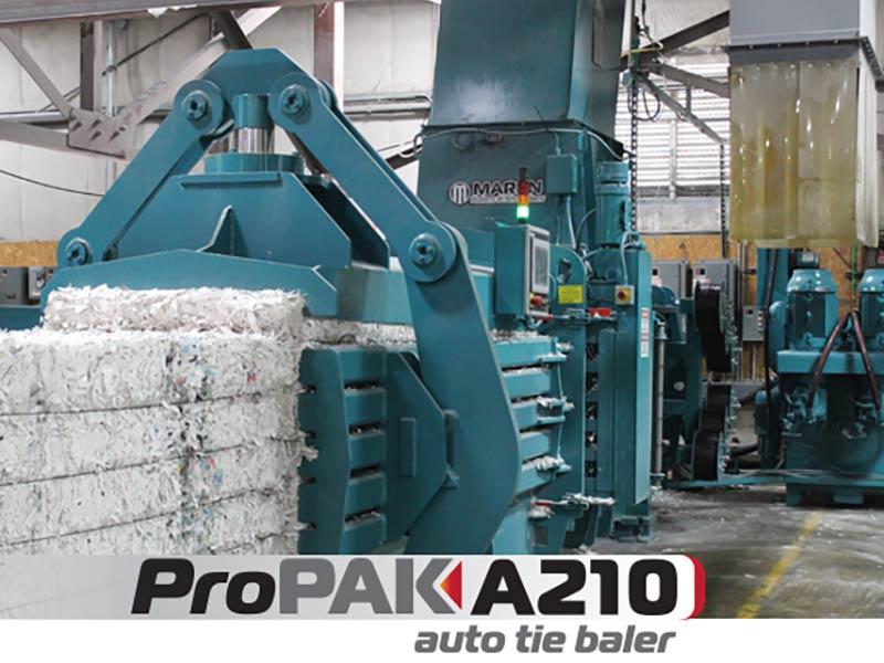 ProPak A210 Horizontal Auto Tie Baler
