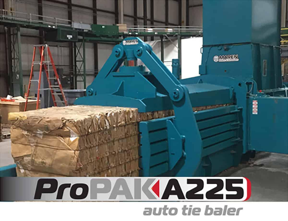 Maren Propak A225 Auto Tie Baler Maren Engineering