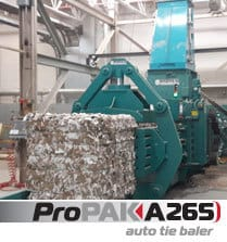 A265 Auto Tie Recycling Baler