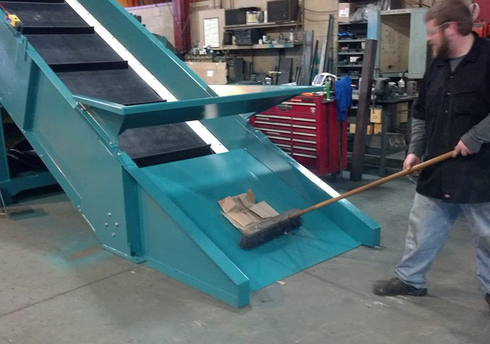 Floor Sweep Conveyors