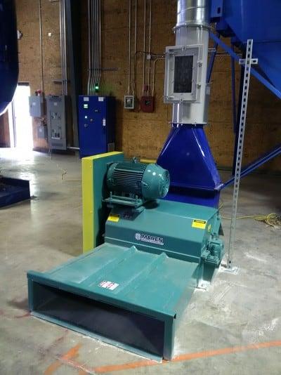 Floor Sweep Shredder